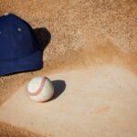 Baseball Hat In Dust