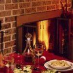 brick-fireplace-dinner