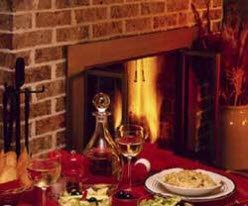 brick-fireplace-dinner