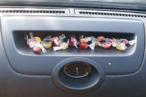 How to clean Automotive: How to Remove Melted Candy from a Car Dashboard