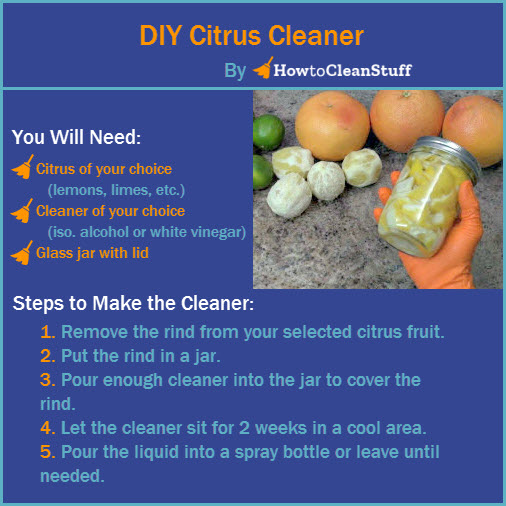 DIY Citrus Cleaners » How To Clean Stuff net