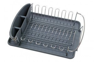 How to clean Kitchenware: How to Remove Buildup from a Dish Drainer