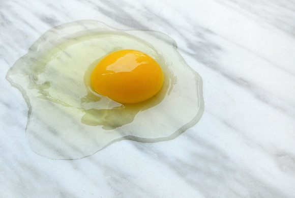 Egg-On-Marble