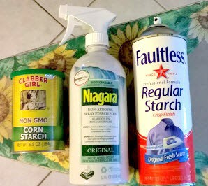 How to clean Fabrics: Getting to Know Laundry Starch