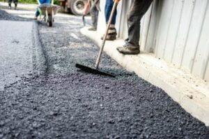 how to clean motor oil off asphalt