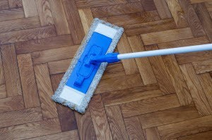 Cleaning Wood Floors with Vinegar » How