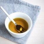 Olive Oil on Cloth