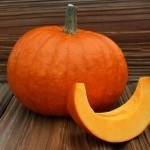 Pumpkin on Hardwood
