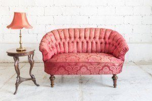 Red-Upholstery
