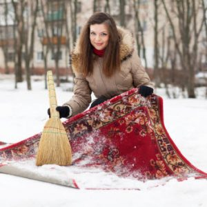 Five Ways to Clean with Snow