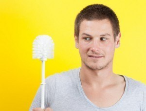 How to clean Bathroom Appliances and Fixtures: How to Clean a Toilet Brush