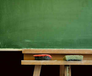 How to clean Everything Else: How to Clean a Chalkboard/Blackboard