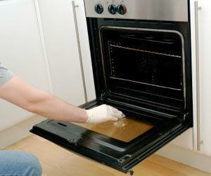 How To Clean A Spotty Oven Door