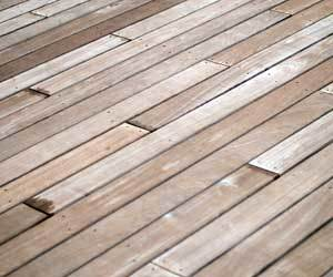 How To Clean A Concrete Platform Under Deck Boards