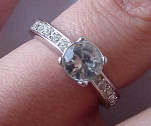What happen if you wash diamonds?