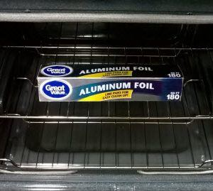 foil-in-oven