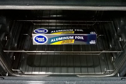 How To Remove Melted Aluminum Foil From The Oven 187 How To