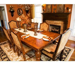 how to clean wooden dining tables