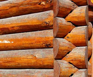 how to remove water stains on interior log walls how to