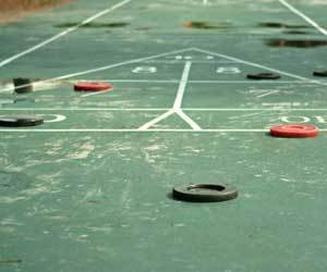 How To Clean And Refinish An Outdoor Shuffle Court 187 How
