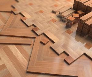 how to clean old paint splashes from a parquet floor