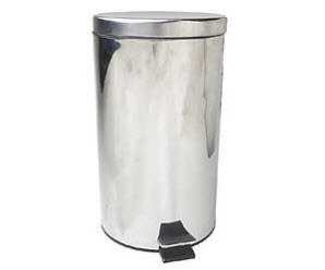 silver-trash-can