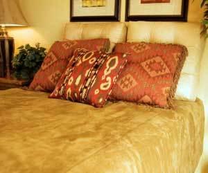 suede-bedspread